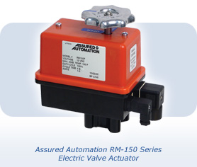 RM-150 Electric Actuators by Assured Automation