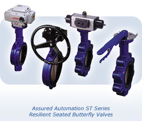 ST Resilient Seated Butterfly Valves by Assured Automation